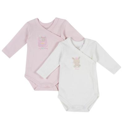 Боди (2 шт) Pink Bunny