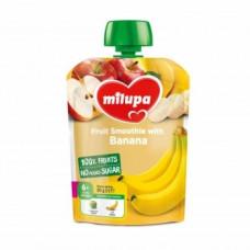 Фруктовое пюре Milupa Pouch Яблоко и банан, 80 г