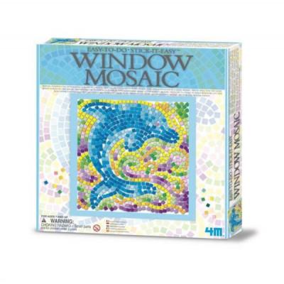 Набор для творчества 4M Мозаика на окно Дельфин (00-04526)