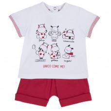 Костюм Milk & Puppy: футболка и шорты