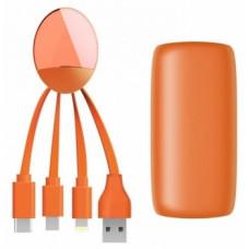 Внешний аккумулятор Xoopar Weekender, оранжевый (XP61068.20A)