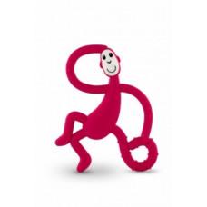 Игрушка-прорезыватель Matchstick Monkey Танцующая Обезьянка, малиновый (MM-DMT-004)