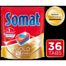 Таблетки для посудомоечных машин Somat Gold, 36 шт.