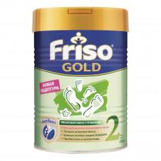 Сухая адаптированная молочная смесь Friso Gold 2 LockNutri 400 г  ТМ: Friso
