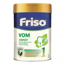 Сухая молочная смесь Friso VOM 1 COMFORT для детей со срыгиваниями, коликами и запорами 400 г  ТМ: Friso