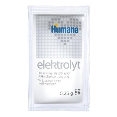 Cмесь для проведения оральной регидратации Humana Elektrolyt Фенхель 6,25 г  ТМ: Humana