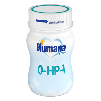 Жидкая детская молочная смесь Humana 0-HP-1 Expert 90 мл 72040 ТМ: Humana