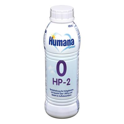 Жидкая детская молочная смесь Humana 0-HP-2 Expert 490 мл  70408 ТМ: Humana