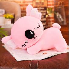 Мягкая игрушка - подушка Сумчатый медвежонок, розовый, 35см
