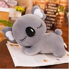 Мягкая игрушка - подушка Сумчатый медвежонок, серый, 35см