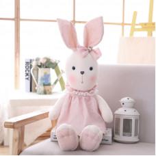 Рюкзак Куколка - Зайчонок, розовый, 46см
