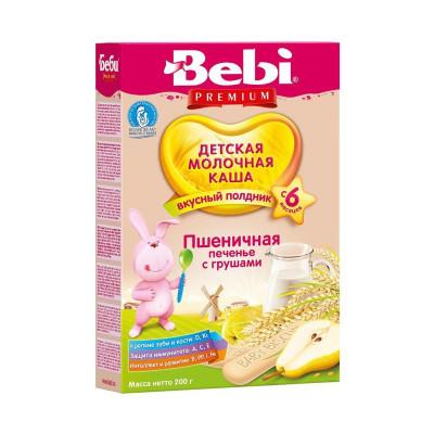 Каша для полдника Печенье с грушами, 200 г 1002517 ТМ: Bebi Premium