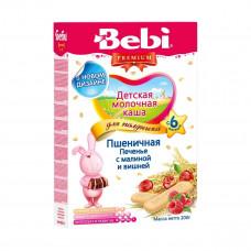 Каша для полдника Печенье с малиной и вишней, 200 г 1002516 ТМ: Bebi Premium