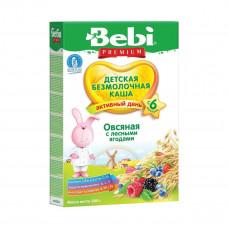 Детская безмолочная каша Овсяная с лесными ягодами, 200 г 1002290 ТМ: Bebi Premium