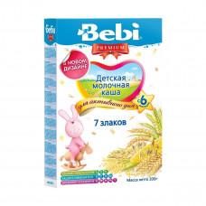 Детская молочная каша 7 злаков, 200 г 1002705 ТМ: Bebi Premium