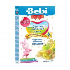 Детская молочная каша «Фруктово-злаковое ассорти», 250 г. 142255 ТМ: Bebi Premium