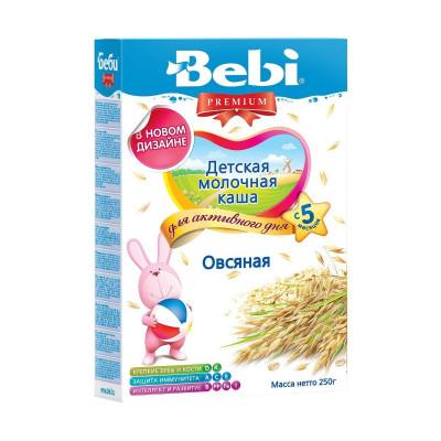Детская молочная каша  «Овсяная», 250 г. 150272 ТМ: Bebi Premium