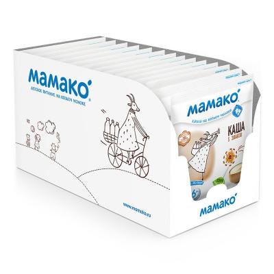 Каша на козьем молоке Мамако 5 злаков 30 г  ТМ: Мамако
