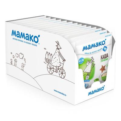 Каша на козьем молоке Мамако гречневая 30 г  ТМ: Мамако