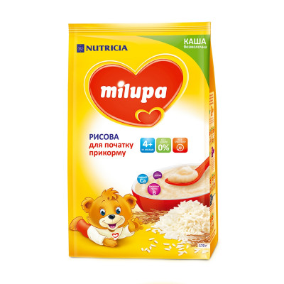 Каша рисовая безмолочная 170 г 119395 ТМ: Milupa