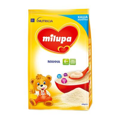 Каша молочная манная, 210 г.  578320 ТМ: Milupa