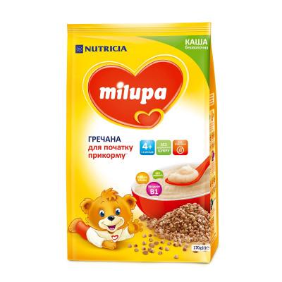 Каша Milupa гречневая безмолочная 170 г 145610 ТМ: Milupa
