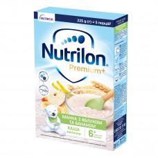 Каша молочная Nutrilon Манная с яблоком и бананом 225 г 157049 ТМ: Nutrilon