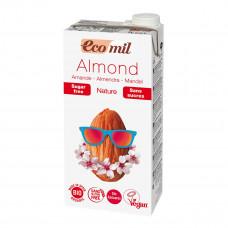 Органическое миндальное молоко, без сахара, 1 л 230061 ТМ: Eco mil
