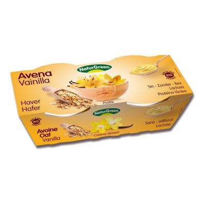 Десерт органический растительный NaturGreen Овес Ваниль 2*125 759037 ТМ: NaturGreen