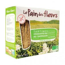 Органические безглютеновые хлебцы с гречкой, 150 г 4843 ТМ: Le Pain des Fleurs