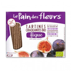 Органические безглютеновые хлебцы с инжиром, 150 г 7241 ТМ: Le Pain des Fleurs