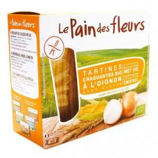 Безглютеновые хлебцы с луком Le Pain des Fleurs Органические, 150 гр 7251 ТМ: Le Pain des Fleurs