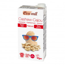 Органическое молоко Eco mil из орехов кешью (без глютена) 1 л 192536 ТМ: Eco mil