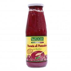 Пюре из томатов с базиликом La Finestra органическое 680 г  ТМ: La Finestra