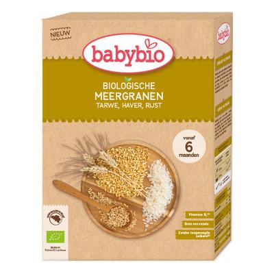 Каша органическая Babybio Мультизлаковая 200 г 50416 ТМ: Babybio