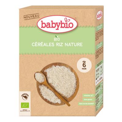 Каша органическая Babybio Rice 200 г 50417 ТМ: Babybio