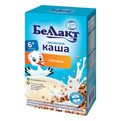 Каша Беллакт молочная гречневая 200 г 1117101 ТМ: Беллакт
