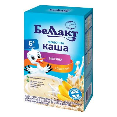 Каша молочная овсяная с бананом Беллакт, 200 г 1117112 ТМ: Беллакт