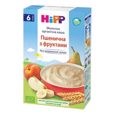 Каша молочная органическая HiPP Пшеничная с фруктами 250 г 2952/3141 ТМ: HiPP