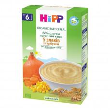 Каша безмолочная органическая HiPP Мультизлаковая с тыквой 200 г 2897 ТМ: HiPP