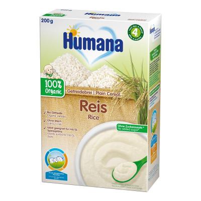 Безмолочная рисовая каша Хумана 200 г 77566 ТМ: Humana