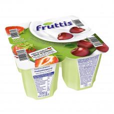 Йогурт Fruttis Легкий Клубника Вишня 4х125 г 734679 ТМ: Fruttis