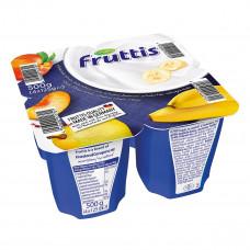 Йогурт Fruttis Сливочное наслаждение Персик-Груша Банан 4х125 г 734811 ТМ: Fruttis