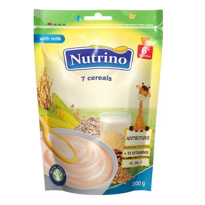 Каша Nutrino молочная 7 злаков 200 г  ТМ: Nutrino