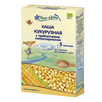 Каша Fleur Alpine кукурузная с пребиотиками 175 г  ТМ: Fleur Alpine