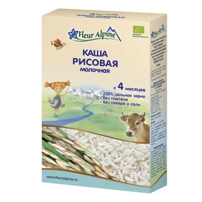 Каша органическая Fleur Alpine Milk&Rice 200 г 1184015 ТМ: Fleur Alpine