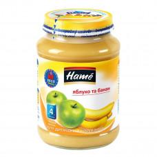 Пюре фруктовое Hame Яблоко Банан 190 г 23600301760101 ТМ: Hame
