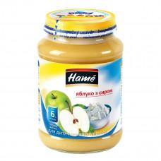 Пюре фруктовое Hame Яблоко Творог 190 г 23601021760101 ТМ: Hame