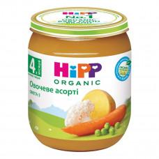 Пюре органическое овощное HiPP Овощное ассорти 125 г 4013 ТМ: HiPP