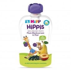 Пюре органическое фруктовое Hipp Груша Слива Смородина 100 г 8526 ТМ: HiPP